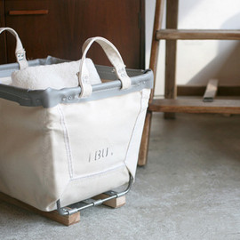 Steel Canvas Basket  Small Carry Baskets
