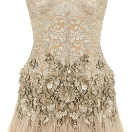 Embroidered Corset Dress