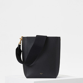 CELINE - Small Seau Sangle Bag in Soft Grained Calfskin