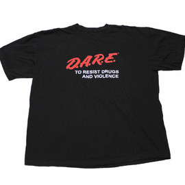 VINTAGE - Vintage 90s DARE To Resist Drugs and Violence Shirt Mens Size XL