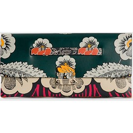 VALENTINO - SS2015 Covered Mixed-Floral Clutch