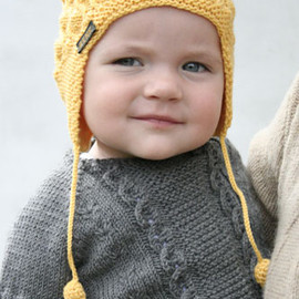 Niko Cardigan and Hat
