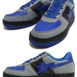 A BATHING APE - LEATHER BAPESTA[ベイプスタ]