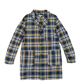 ENGINEERED GARMENTS - Duster-Madras Plaid-Nvy×Grn×Ylw