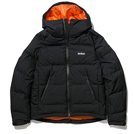 XLARGE®, WILDTHINGS - Down Jacket - Black/Orange