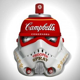 Mr. Brainwash - Campbell's Condensed Trooper Spray