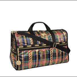 LeSportsac & JOYRICH - Large Weekender in Chain Check