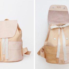 YUE - Pocket Backpack - Natural Raw