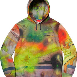 Supreme - Rammellzee Hooded Sweatshirt