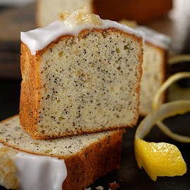 Starbucks - Coffee & Espresso Cake Lemon Poppy Seed