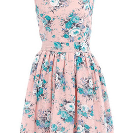 DOROTHY PERKINS - Pink floral print dress