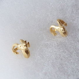 EZA animal - Sheep Earring k18 Coat