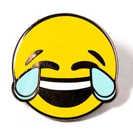 PINTRILL - Happy Tears Face Pin