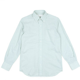 The FRANKLIN TAILORED - Color Ox BD Shirt-Green