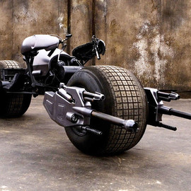 dark knight - batpod