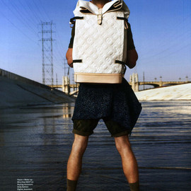 LOUIS VUITTON - by Kim Jones S/S 2012 Collection Masai Backpack