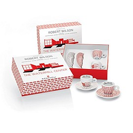 Illy - イリー アートコレクションILLY Art Collection (Robert Wilson - The Watermill Center) Espresso 2 cup set