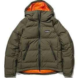 XLARGE®, WILDTHINGS - Down Jacket - Olive/Orange