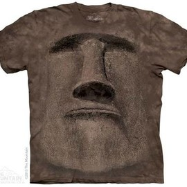 THE MOUNTAIN - EASTER ISLAND FACE T-SHIRT