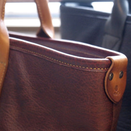 MOTO - 【MOTO】Leather Tote Bag(Shrink Leather,BAG13A)