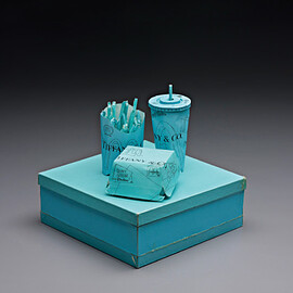 Tom Sachs, Tiffany & Co. - Tiffany & Co. Crispy Chicken Deluxe Meal )