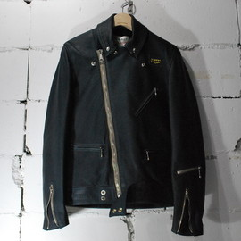 Lewis Leathers × REAL McCOY'S - Lewis Leathers × REAL McCOY'S Cyclone/NAVY