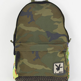 NADA. - 3layer camo back-pack