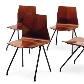 Rene Jean Caillette - Chairs, ca 1956