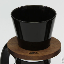 TORCH - donut. CoffeeDripper black