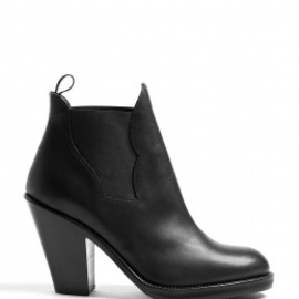 Acne - Black Star Ankle Boots