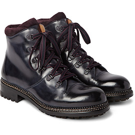 O'KEEFFE - Austin Leather Boots