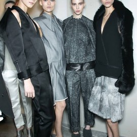 ALEXANDER WANG - backstage at Alexander Wang Fall 2013 #runway #NYFW