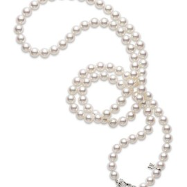 MIKIMOTO - Akoya Cultured Pearl Strand Necklace
