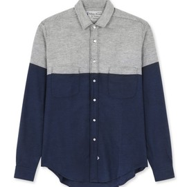 Sidian Ersatz & Vanes - Slim cropped shirt