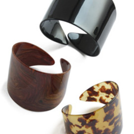 TOGA - Tortoiseshell Bangle Set (mix)