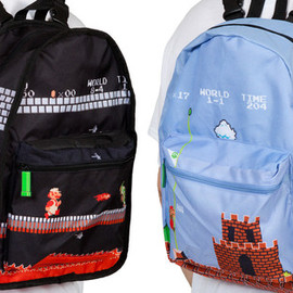Nintendo - Super Mario Reversible Backpack