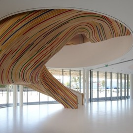 Tétrarc Architects - Stairs at The School of Arts