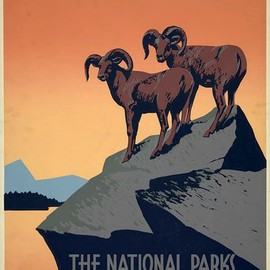 Ten Vintage U.S. Parks Posters You'll Want to See