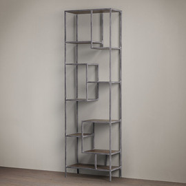 Restoration Hardware - Vintage Industrial Staggered Shelving Tower