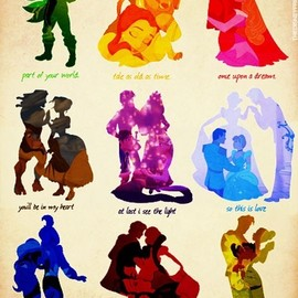 Disney - Disney Love - would be awesome for a tattoo