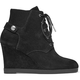 MICHAEL Michael Kors - Carrigan suede wedge ankle boots