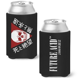 Future Acid - Reaper Warning Koozie (Black)