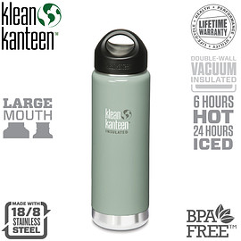 klean kanteen - Klean Kanteen Vacuum Insulated Wide 20 oz Bottle
