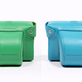 Lomography - 'Diana F+' Camera Case (Blue / Green)
