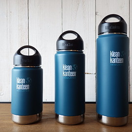 Klean Kanteen - Wide Insulated 16oz/Neptune Blue