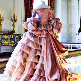 "Christian Dior - 18th Century Back in Fashion at Versailles  ""Marie-Antoinette Meets Vivienne Westwood""  Christian Dior Haute Couture FW 2007"