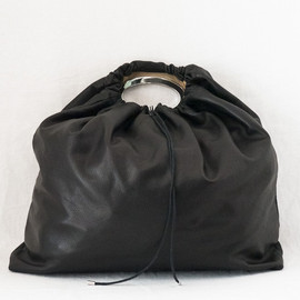 Maison Martin Margiela - Large Drawstring Metal Handle Bag