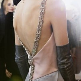 Chanel - backless dress