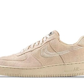 NIKE, STUSSY - STÜSSY / NIKE AIR FORCE 1 LOW - FOSSIL
