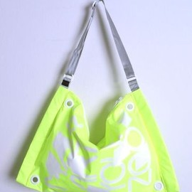 make art your zoo - FUSS BAG (K.YELLOW/G)